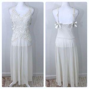 Vintage Victoria Secret Lace Nighty Dress